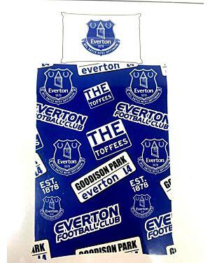 Everton Patch Duvet Set SINGLE  CCC0249