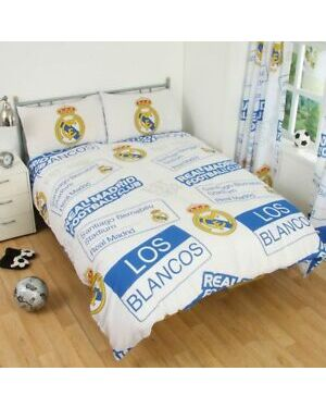 Real Madrid Patch Duvet Set Double CCC0310