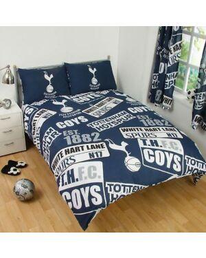 Tottenham Hotspur Patch Duvet Set Double CCC0316
