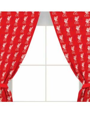 """Liverpool Repeat Crest 54""""Curtains  Polycotton CCC0277"""