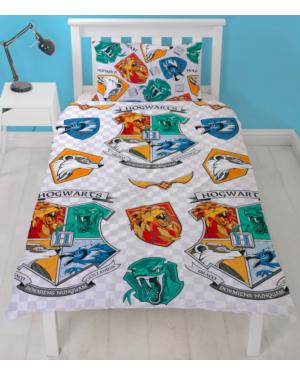 Harry Potter Grid Rotary Duvet Set Single (NEW)CCC0049