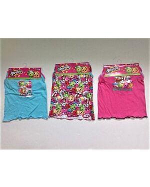 Shopkins Girls Vest and Brief Set QA572