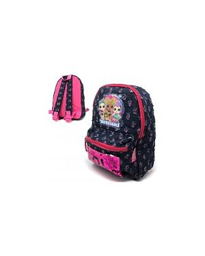 Deluxe Denim Easy pack Style Backpack Sequins LOL Surprise PL652 WH