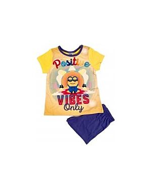 GIRLS MINIONS SHORTIE PL698
