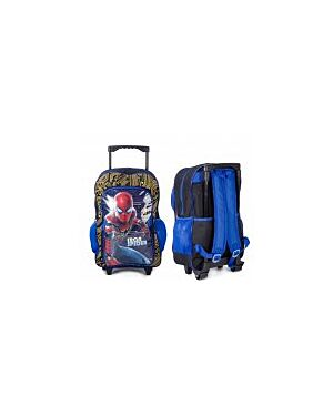 IRON SPIDERMAN DELUXE TROLLEY BACKPACK PL672