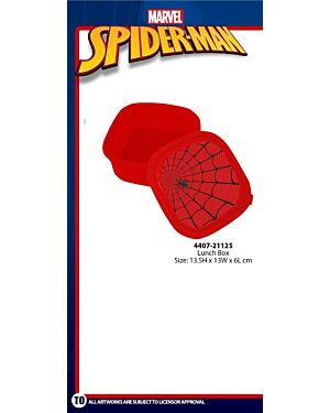 Spiderman Lunch Box TM-4407-21125