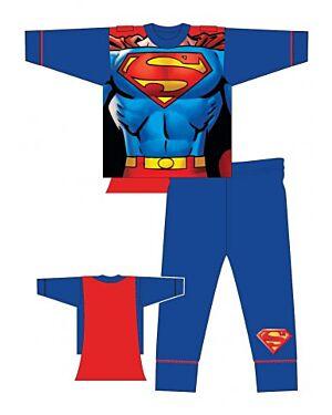 SUPERMAN BOYS NOVELTY SNUGGLE FIT PJS - MJ5826