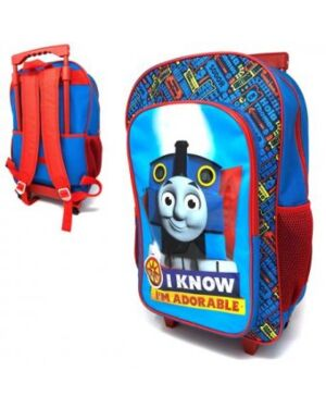 THOMAS THE TANK DELUXE 41CM TROLLEY BACKPACK - QA2495