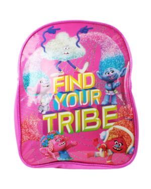 Children's Trolls Find Your Tribe Pink Backpack