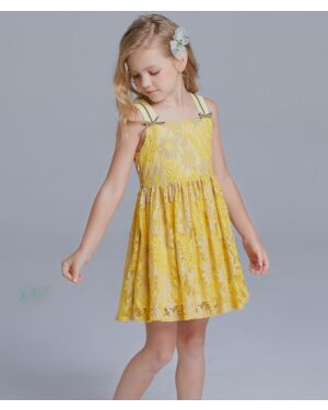 Girls Summer Fashionable With A Strap Dressers PL1612