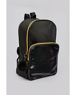 Girls Kelis square pocket back pack_ _WLGIRLS01256