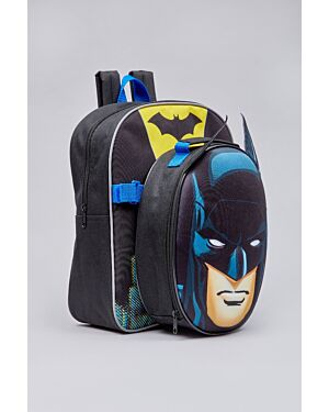 Batman back pack with removable EVA lunchbag and water bottle_ _WLBATMAN02282