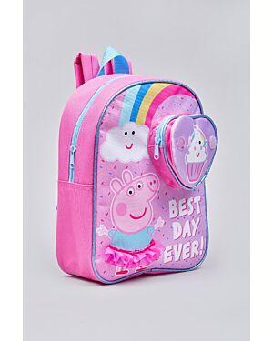 Peppa Pig Layna flip front pocket back pack_ _WLPEPPA01842