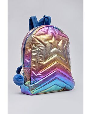 Girls quilted roxy back pack_ _WLGIRLS00399