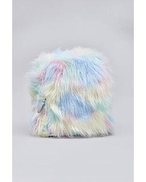 Girls faux fur back pack_ _WLTMC00758