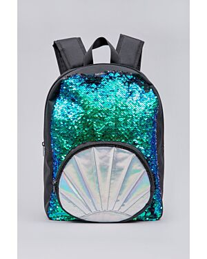Girls novelty sequined back pack_ _WLTMC00759