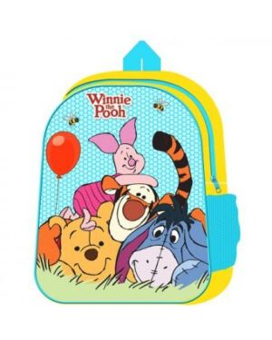 WINNIE THE POOH BACKPACK WITH MESH SIDE POCKET - QA2484 WH