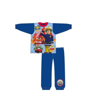 BOYS TODDLER FIREMAN SAM SUBLIMATION PYJAMAS PL954