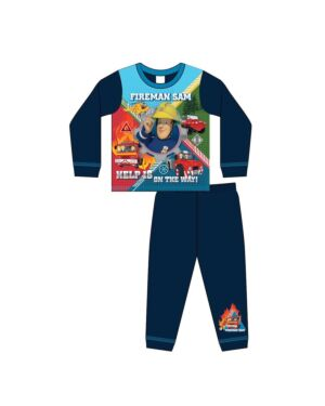 BOYS TODDLER FIREMAN SAM SUBLIMATION PYJAMAS PL972