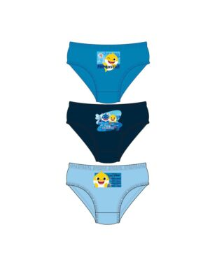 BOYS BABY SHARK 3PK BRIEFS PL1179