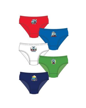 BOYS THOMAS 5PK BRIEFS PL1042