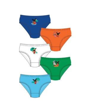 BOYS BING 5PK BRIEFS PL1040
