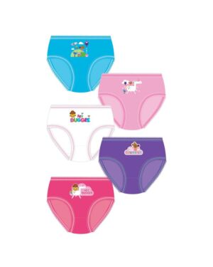 GIRLS HEY DUGGEE 5PK BRIEFS PL1077