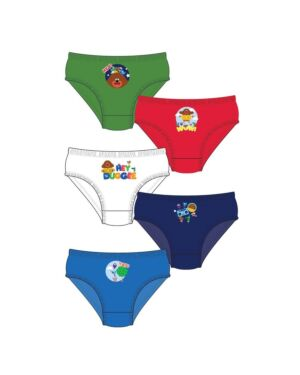 BOYS HEY DUGGEE 5PK BRIEFS PL1044