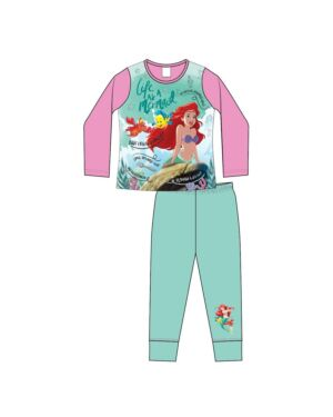 GIRLS OLDER LITTLE MERMAID SUB PYJAMAS PL930