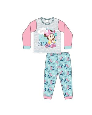BABY GIRLS MINNIE MOUSE PYJAMAS PL911