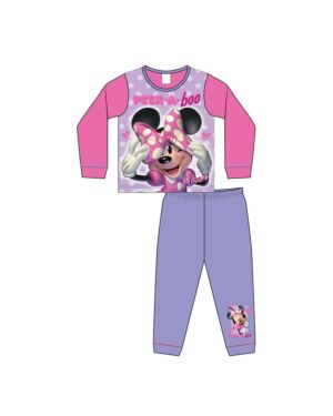 GIRLS TODDLER MINNIE MOUSE SUBLIMATION PYJAMAS PL1189