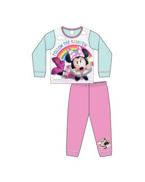 GIRLS TODDLER MINNIE MOUSE SUBLIMATION PYJAMAS PL1062