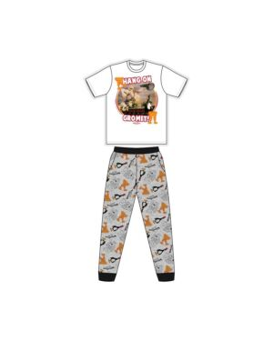 MENS WALLACE AND GROMIT PYJAMA PL1217