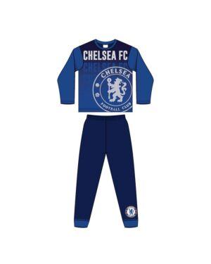 BOYS OLDER CHELSEA FC SUBLIMATION PYJAMAS PL1290