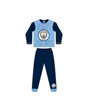 BOYS OLDER MANCHESTER CITY FC SUBLIMATION PYJAMAS PL1008