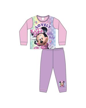 GIRLS TODDLER MINNIE MOUSE SUBLIMATION PYJAMAS PL1063