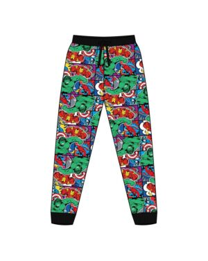 MENS MARVEL COMICS LOUNGEPANT PL1441