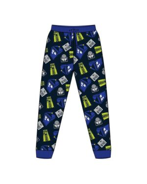 MENS DOCTOR WHO LOUNGEPANT PL1452