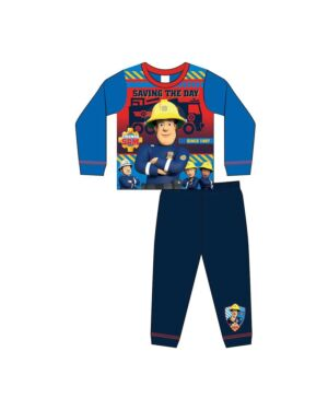 BOYS TODDLER FIREMAN SAM SUBLIMATION Pyjamas PL1729