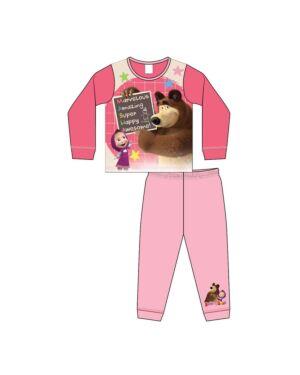 GIRLS Toddler  MASHA AND THE BEAR SUBLIMATION Pyjamas PL1795