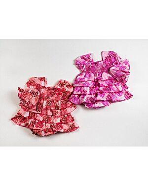BABY 3PC DRESS SET WOVEN DRESS PANT AND HAT MJ5506