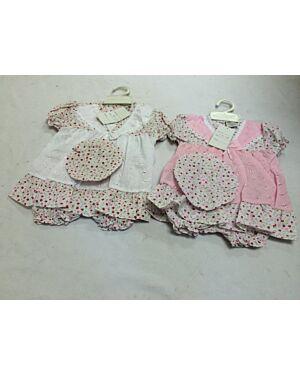 Baby Girls Beautiful 3PCS Set MJ5367