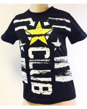 BOYS STAR CLUB PRINTED T-SHIRT TD9169