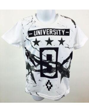 BOYS UNIVERSITY 8 PRINTED T-SHIRT TD8957