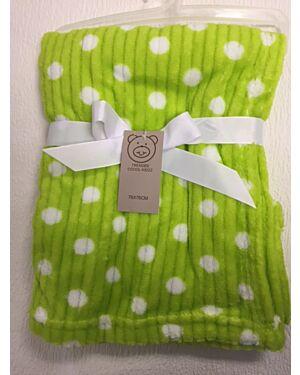 Polka dots Coral fleece Wrap MJ5595