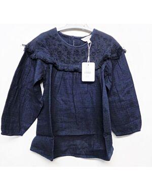Girls Ex Chain Store Cotton Tunic Blouse QA2530