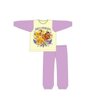 GIRLS LION KING PYJAMA PL490