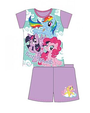 GIRLS OLDER MY LITTLE PONY SHORTIE PJS TD10606
