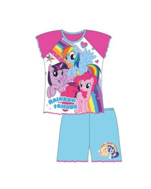 GIRLS TODDLER MY LITTLE PONY SHORTIE PJS TD10601