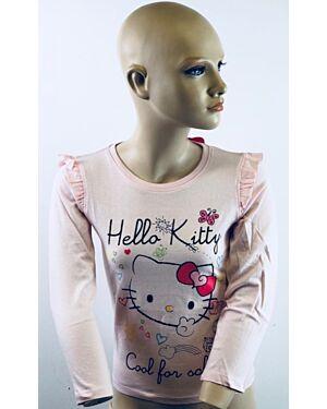 Printed Hello Kitty Girls Long Sleeve Top TD5329